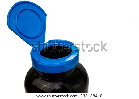 pill bottle cap is opened