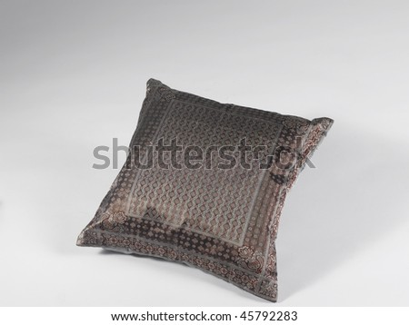 pillow grey - stock photo