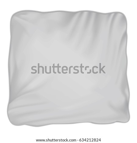 Pillow mockup. Realistic illustration of pillow  mockup for web