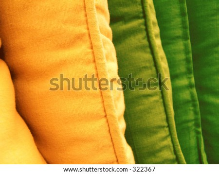 pillows - stock photo