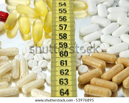 Pills and diet