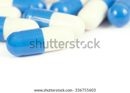 Pills - Close up./ Pills - Close up.