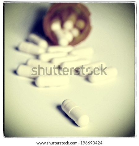 Pills, instagram filter style