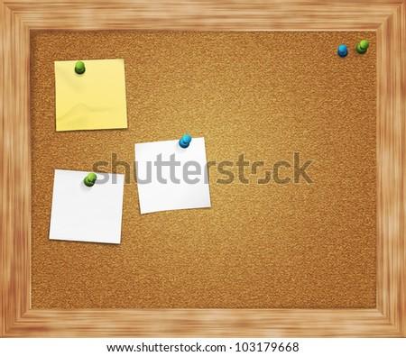 Pin Board Background - stock photo