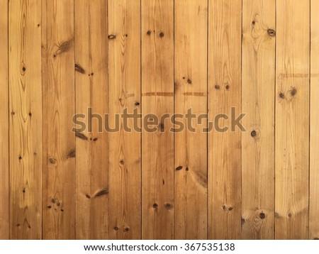 Pine wood wall - stock photo
