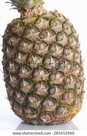 pineapple, Ananas detail, nice composition, fresh fruit - stock photo