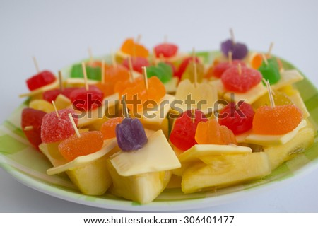 Pineapple Cheeses