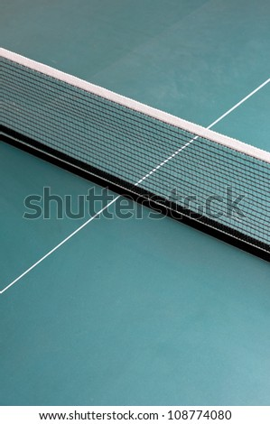 ping pong tenis table background - stock photo