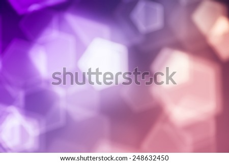 Pink abstract background, blurred lights bokeh - stock photo