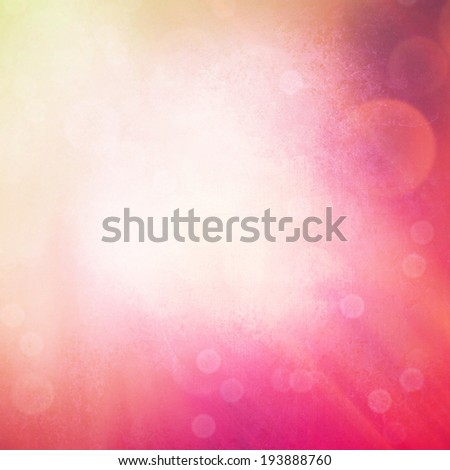 Pink abstract background with sparkles - stock photo
