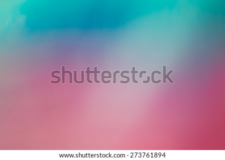 Pink and blue out of focus abstract background - stock photo