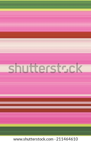 Pink and Green Striped Background - stock photo