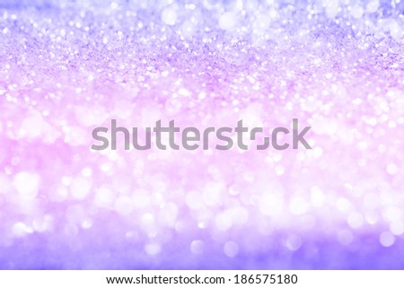Pink and Purple Out of Focus Glitter Texture Pattern Background - stock photo