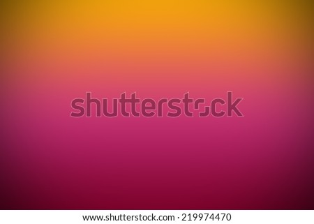 pink and yellow gradient wallpaper Background, vignette - stock photo