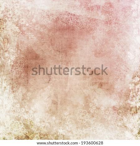 Pink - beige vintage texture background  - stock photo