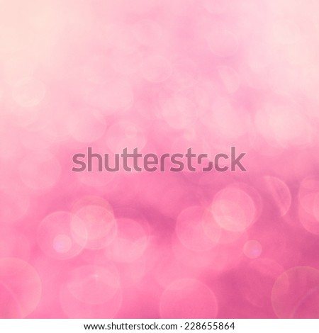 pink bokeh background - stock photo