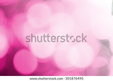 Pink bokeh glitter defocused lights abstract background - stock photo