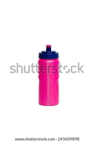 Pink bottle - stock photo
