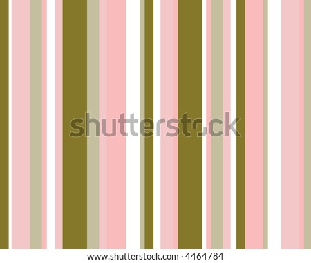 Pink, brown and white striped background