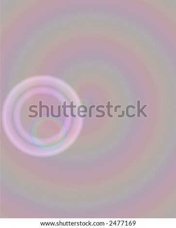 Pink bubbles abstract background design
