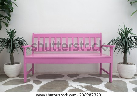 Pink Chair - stock photo