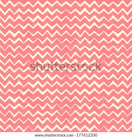 Pink Chevron seamless pattern. Raster version - stock photo