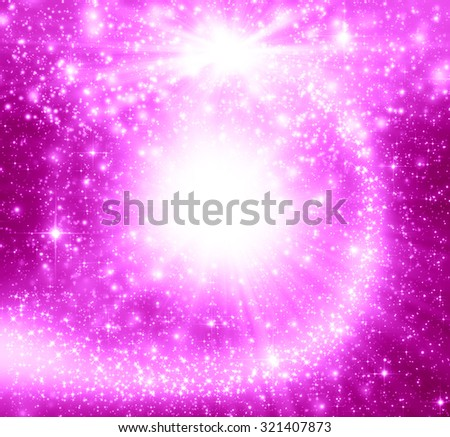 Pink christmas abstract background