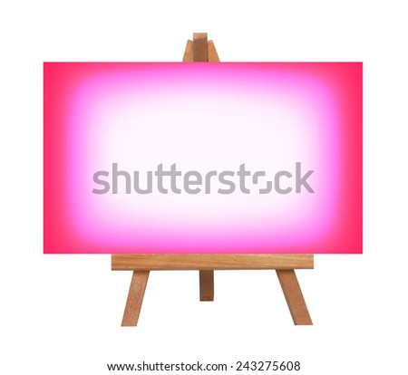 pink color paper for valentine wedding etc on white.  - stock photo