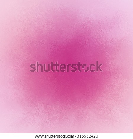 pink color splash on white with faded vintage texture, pretty soft valentines day background with blank copyspace, abstract hot pink background - stock photo