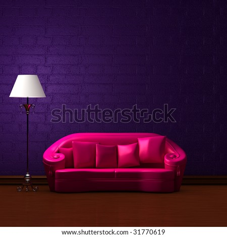 Purple Couch Stock Photos Images Amp Pictures Shutterstock