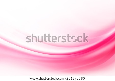 Pink Curves Abstract Background - stock photo