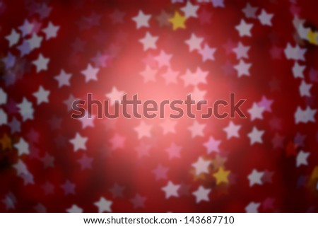 pink defocused star background (Bokeh) for festival, blur focus