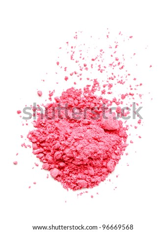 Pink eyeshadow - stock photo