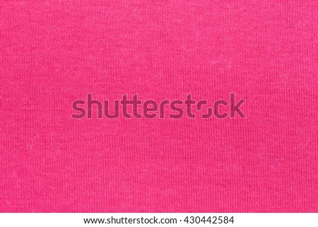 Pink Fabric Texture and background - stock photo