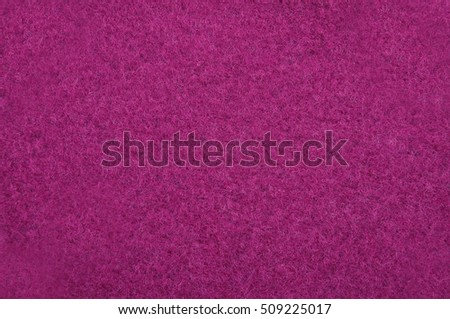 Pink felt as background