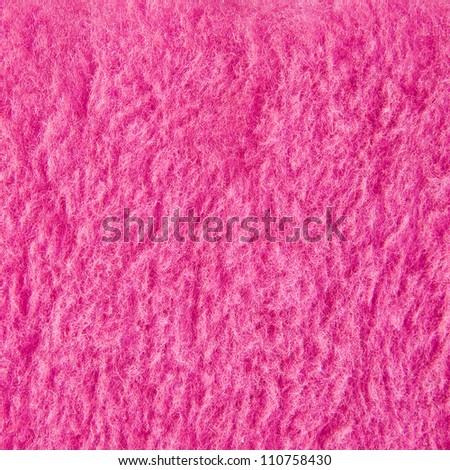 pink fur fabric texture material - stock photo