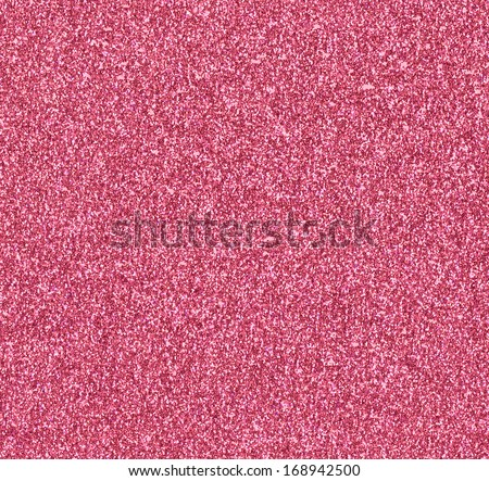 Pink Glitter Background - stock photo