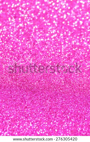 pink glitter christmas abstract background - stock photo