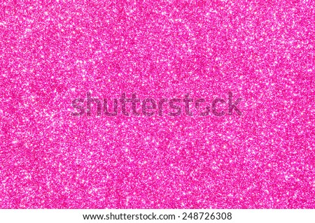 pink glitter texture valentine's day background - stock photo