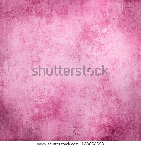 pink grunge texture or background - stock photo