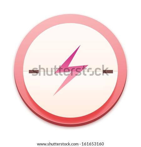 Pink icon, the whole series over 300 selectable - stock photo