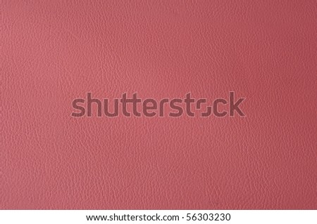 Pink leather - stock photo