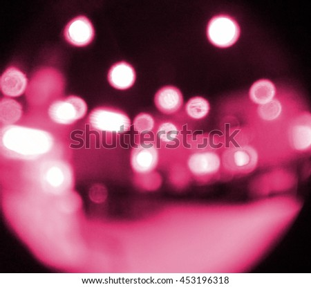 pink Light festive background. Elegant abstract background with bokeh defocused lights.  - stock photo