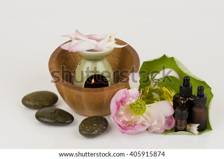 Pink Lotus Essential Oil: Beauty and Aesthetic Aromatherapy by a body massage, compress, Inhalation, cosmetic, fragrancers.