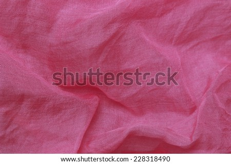 pink organza background/pink organza fabric texture - stock photo