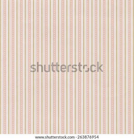 Pink paper background with striped pattern - stock photo