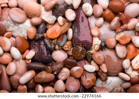 Pink pebble background