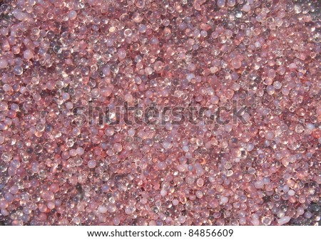 pink plastic polymer  material - stock photo