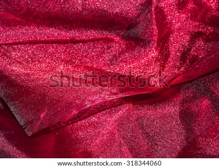 Pink Red  transparent fabric. texture