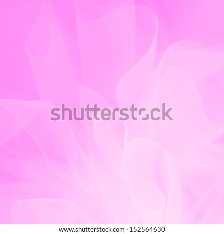 pink ribbon abstract background - stock photo